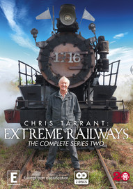 Chris Tarrant's Extreme Railways - The Complete Series Two on DVD