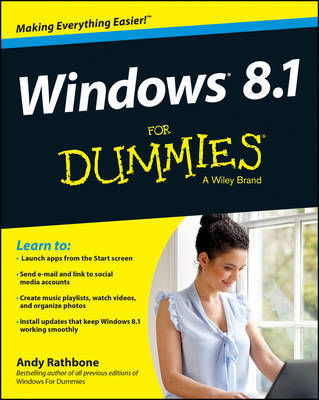 Windows 8.1 For Dummies by Andy Rathbone image