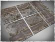DeepCut Studio Walking Dead City Neoprene Tiles (6pcs 2x2)