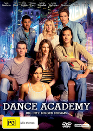 Dance Academy: The Movie on DVD