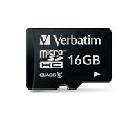 Verbatim Micro SDHC Card - 16GB (Class 10)