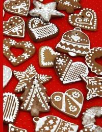 Shopping Notebook a Variety of Iced Christmas Cookies by All about Me