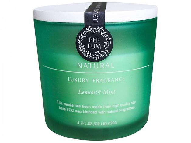 LaVida: Candle Jar - Lemon & Mint