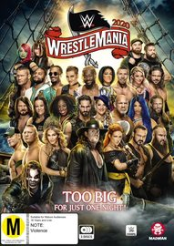 WWE: Wrestlemania - # 36 on DVD image