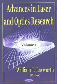 Advances in Laser and Optics Research: v. 1 image
