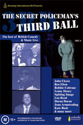 The Secret Policeman's Third Ball on DVD