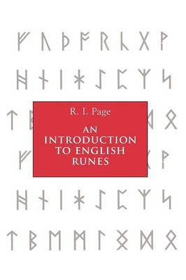 An Introduction to English Runes by R.I. Page image