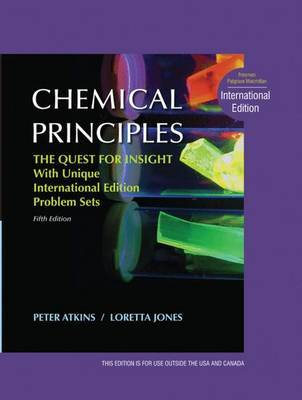 Chemical Principles: The Quest for Insight, Interna by Loretta Jones image
