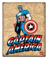 Marvel: Captain America Retro Tin Sign