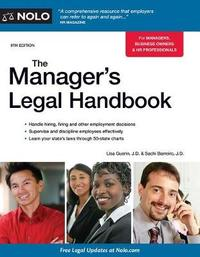 The Manager's Legal Handbook by Lisa Guerin