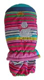 Mountain Wear: Carnival Stripe Zero Kids Mittens (Small)