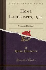 Home Landscapes, 1924 by Hicks Nurseries image
