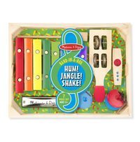 Beginner Band Set Wooden Musical Instruments - Melissa & Doug