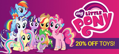 20% off My Little Pony