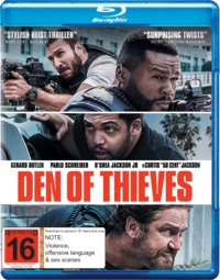 Den of Thieves on Blu-ray