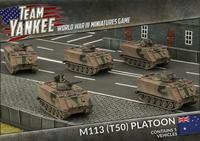 Team Yankee: Australian M113 T50 Platoon