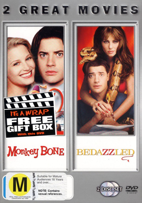 Monkeybone / Bedazzled on DVD image