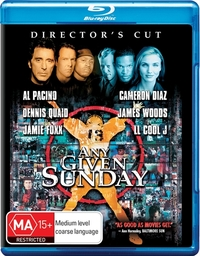 Any Given Sunday [Director's Cut] on Blu-ray