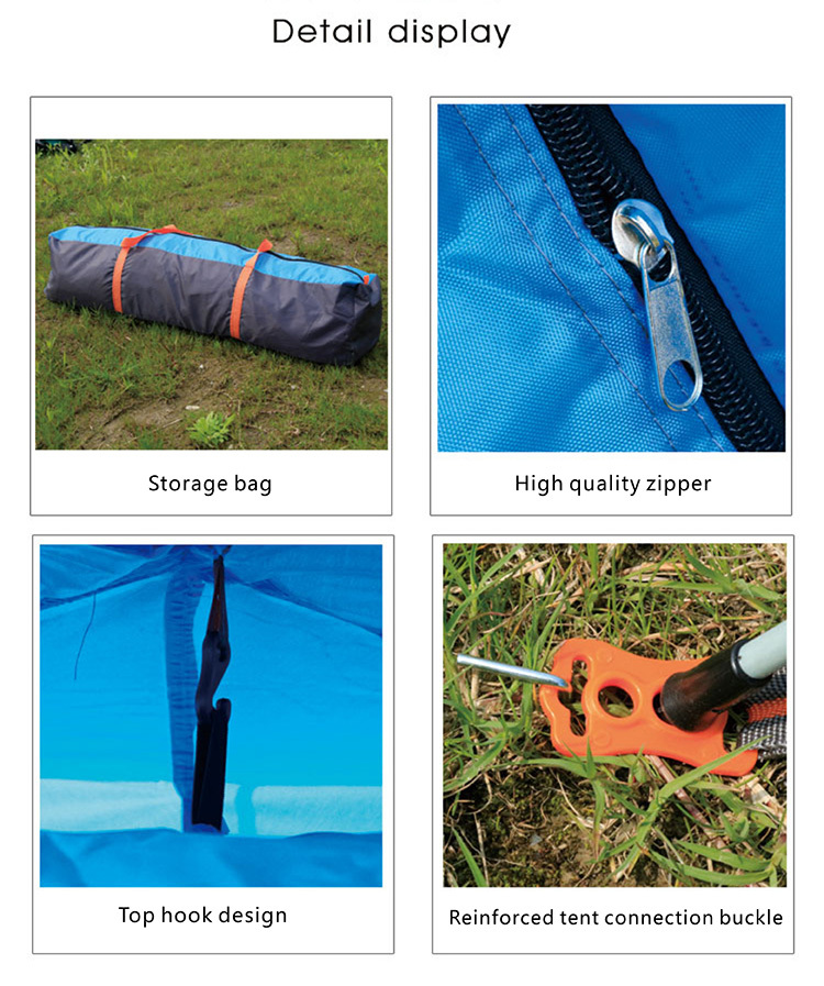 1-2 Person Instant Dome Camping Tent image