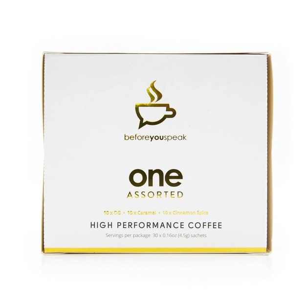 Before You Speak: High Performance MCT Coffee - Assorted (30 x 6.5g)