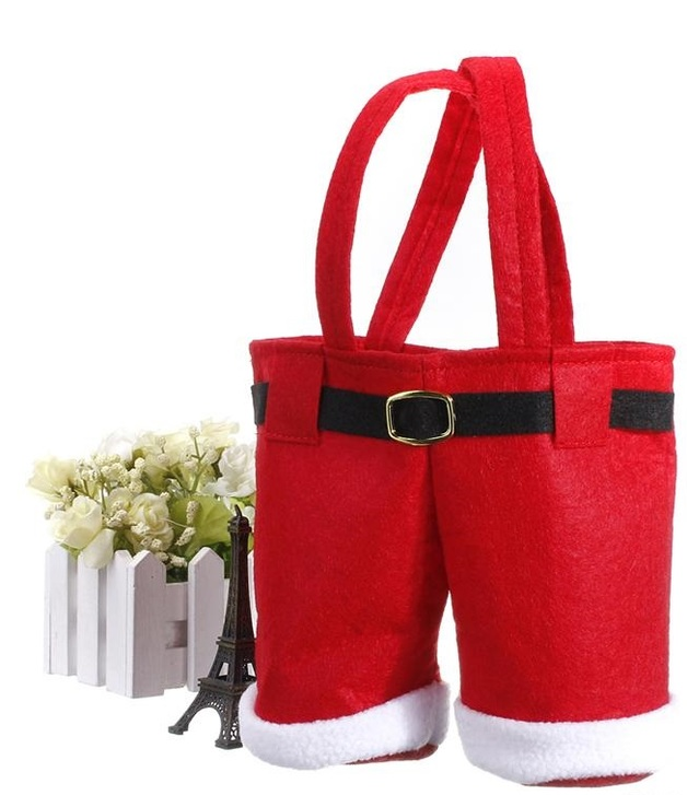 Gorilla Gift: Santa Claus Christmas Pants Gift Bag