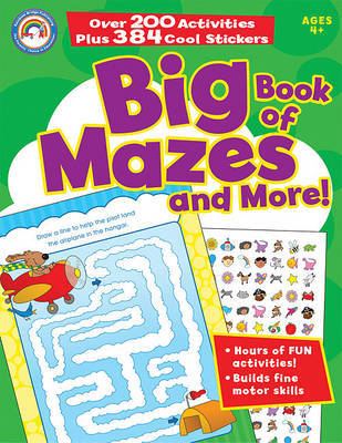 Big Book of Mazes and More! image