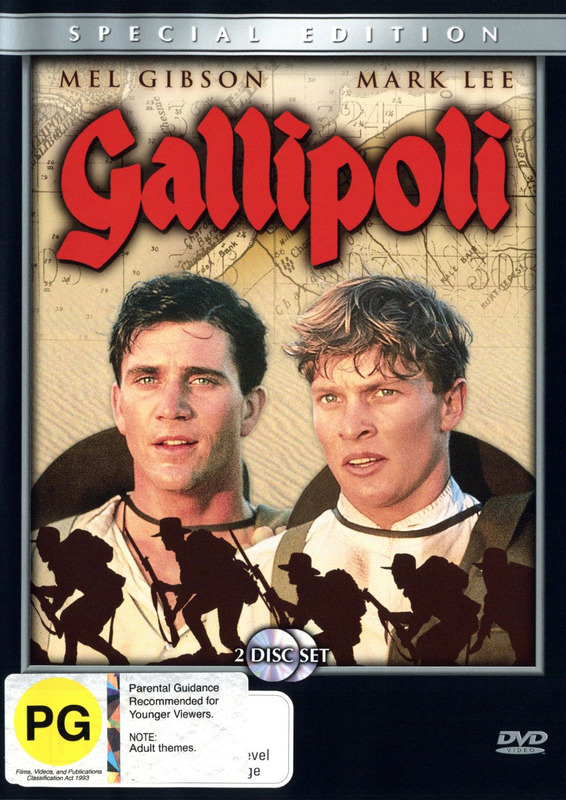 Gallipoli - Anniversary Edition (2 Disc Set) on DVD