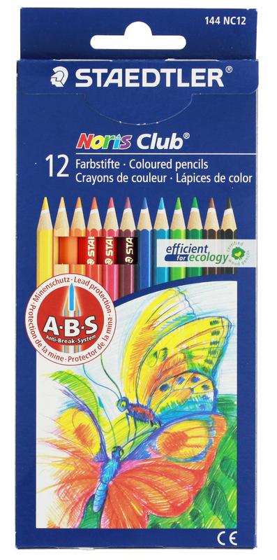 Staedtler Noris Club Colour Pencils Full Pkt12