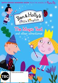 Ben & Holly's Little Kingdom: Magic Test on DVD