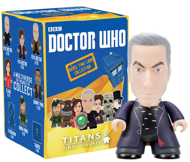 Doctor Who - The Rebel Time Lord Titans Vinyl Figures (Blind Box)