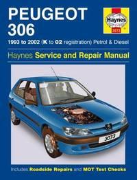 Peugeot 306 Petrol & Diesel (93 - 02) K To 02 by Mark Coombs