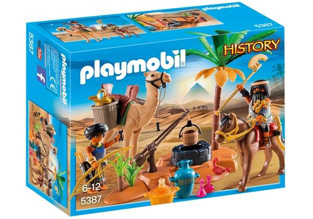 Playmobil: History - Tomb Raiders Camp