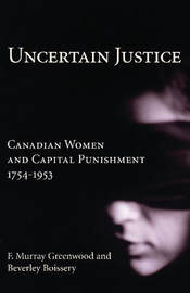Uncertain Justice by F.Murray Greenwood image