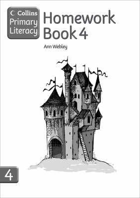 Homework Book 4 by Ann Webley image