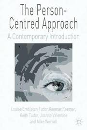 The Person-Centred Approach by Louise Embleton Tudor image