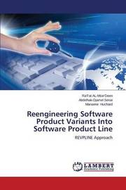 Reengineering Software Product Variants Into Software Product Line by Al-Msie'deen Ra'fat