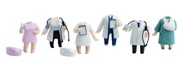 Nendoroid More: Dress-Up Clinic Accessory - Blindbox