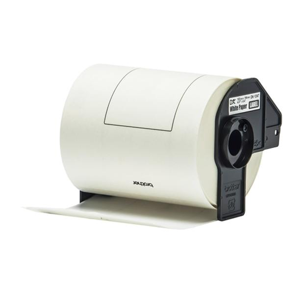 Brother DK-11247 Label Roll - Black on White (103mm x 164mm) (180 Labels)