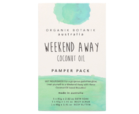 Organik Botanik Weekend Away Pamper Pack - Coconut Oil