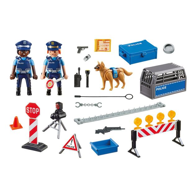 Playmobil: Police Roadblock