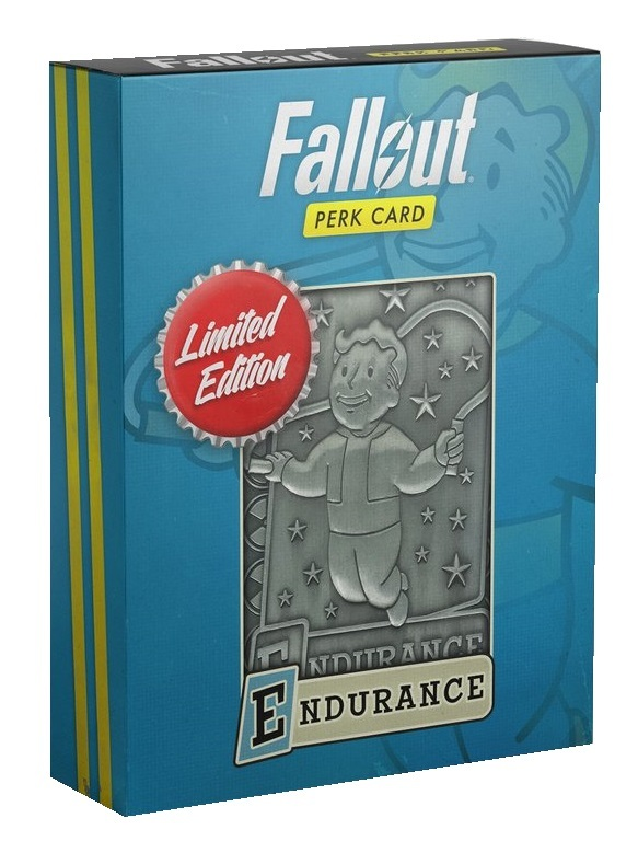 Fallout: Replica Perk Card - Endurance