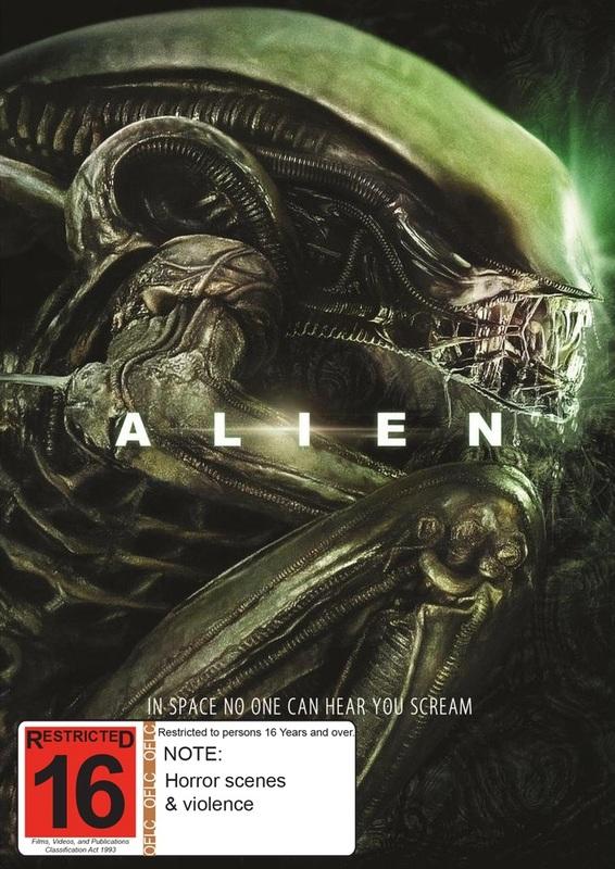 Alien on DVD