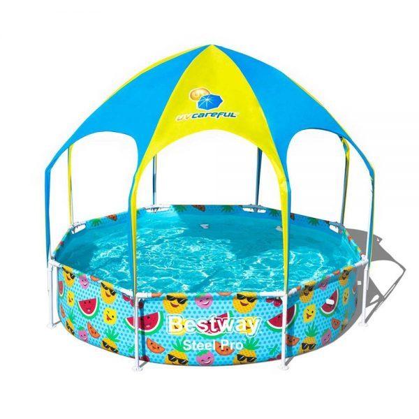 Bestway: Splash-in-Shade Play Pool (8' x 8')