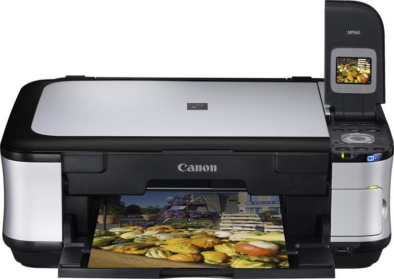 Canon Pixma MP560 Multifunction - Printer/Scanner/Copier image