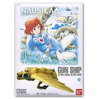 Nausicaa Gunship of the Valley of the Wind 1:72 Model Kit