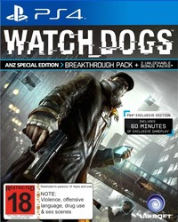 Watch Dogs Special Edition for PS4