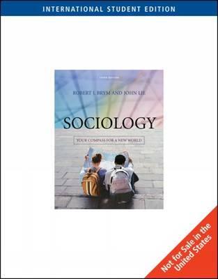 Sociology by Robert J Brym image