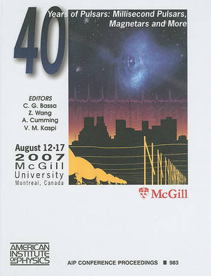 40 Years of Pulsars