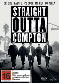 Straight Outta Compton on DVD