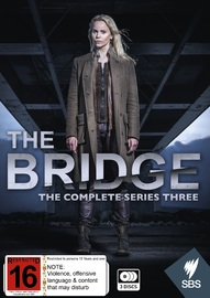 The Bridge - The Complete Series Three on DVD image